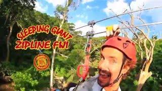 Sleeping Giant Zipline Fiji