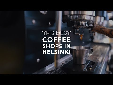 THE BEST COFFEE SHOPS IN HELSINKI, FINLAND