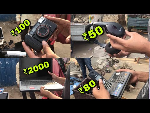 Second Hand Market Of Electronics Items Chor Bazaar Delhi