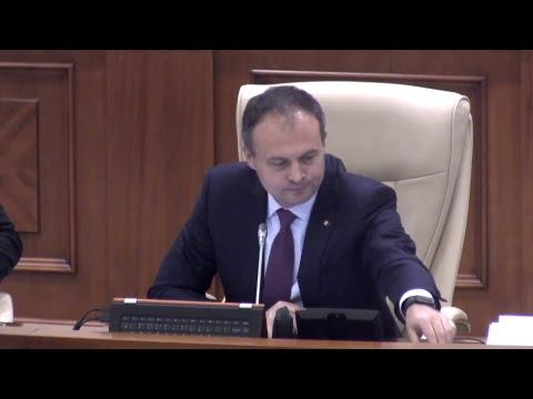 Şedinţa Parlamentului Republicii Moldova 17.11.2017