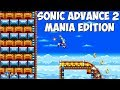 Sonic Advance 2 Mania Edition Walkthrough Sonic Mania Mods mp3