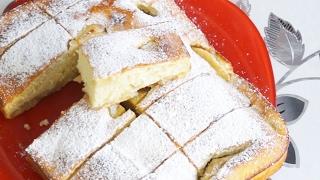 Яблочный пирог на кефире Легкий и невероятно вкусный