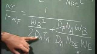 Lecture - 3 Modelling of BJTs