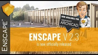 Enscape 2.3 - Plugin for Revit, SketchUp, Rhino & ArchiCAD