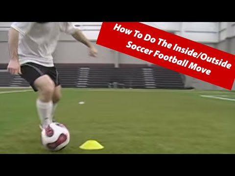 How To Do The Inside/Outside Soccer Football Move