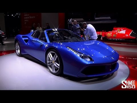 The Blue Cars of the Frankfurt Motorshow 2015