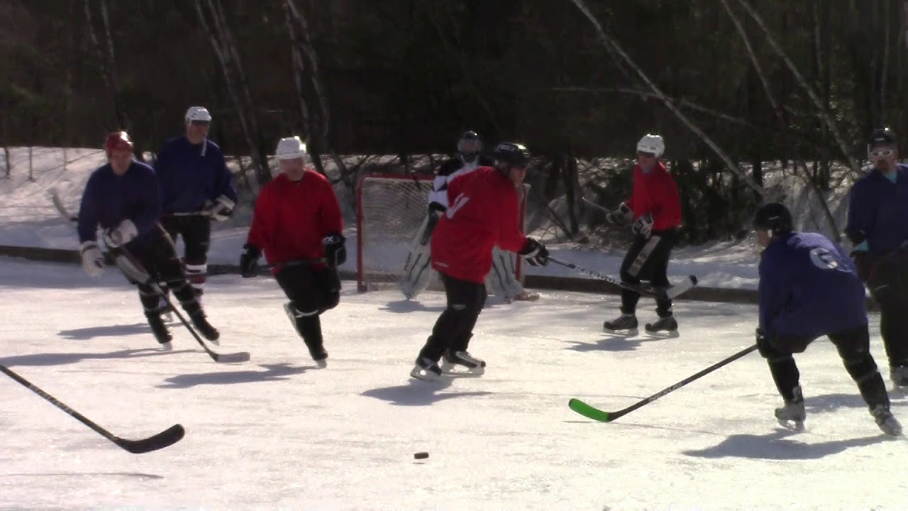 Mahoney Pond Hockey  2-23-19