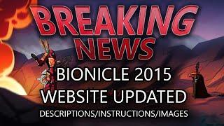 BREAKING NEWS: BIONICLE Website Updated!
