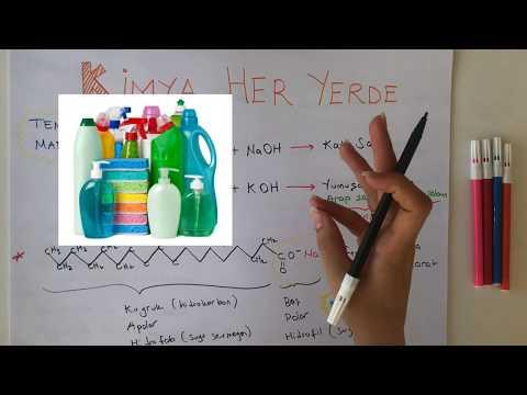 10. Sınıf Kimya  2020 TYT - Kimya Her Yerde - Temizlik Malzemeleri - Bölüm 1