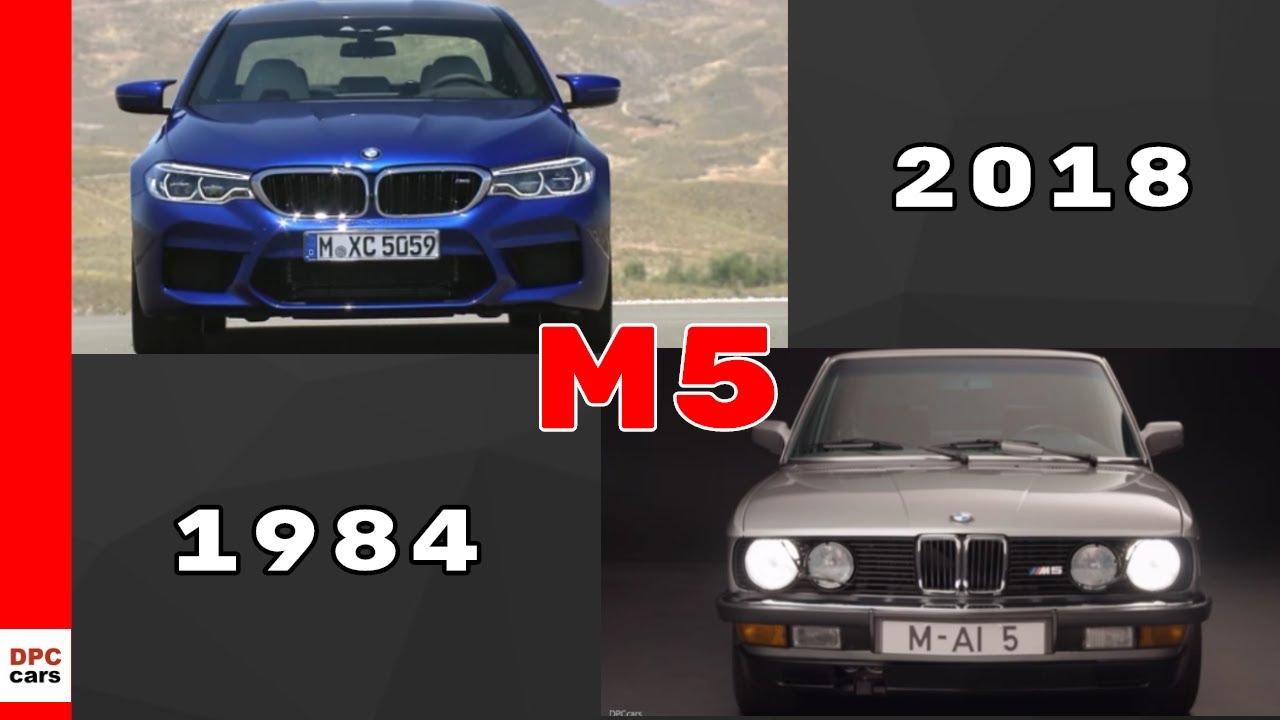 2018 BMW M5 vs 1984 BMW M5 - YouTube