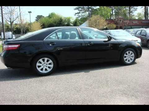 2009 Toyota Camry Black Virginia Beach Va Youtube
