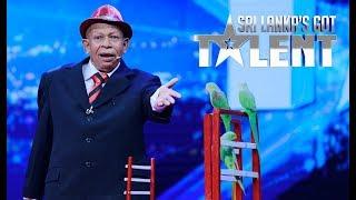 Talented ගිරව් Got Talent ඇවිත් - හැමෝම Yes කියයි | SLGT | Sri Lanka's Got Talent Thumbnail