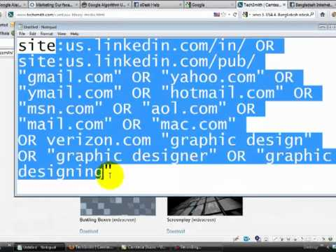 Find Email Address of Specific Niche from LinkedIn with Google - In Bangla