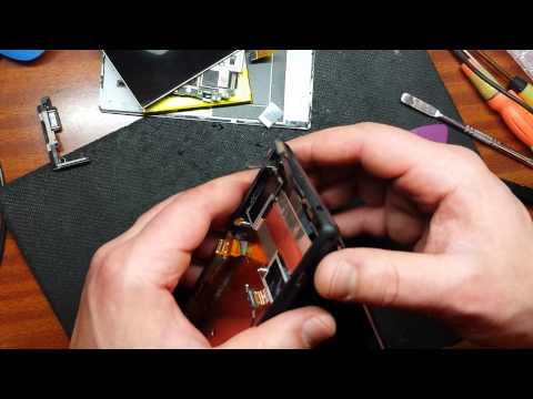 Xperia M2 замена дисплея
