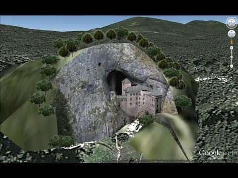 ANCIENT CASTLES OF SLOVENIA IN GOOGLE EARTH