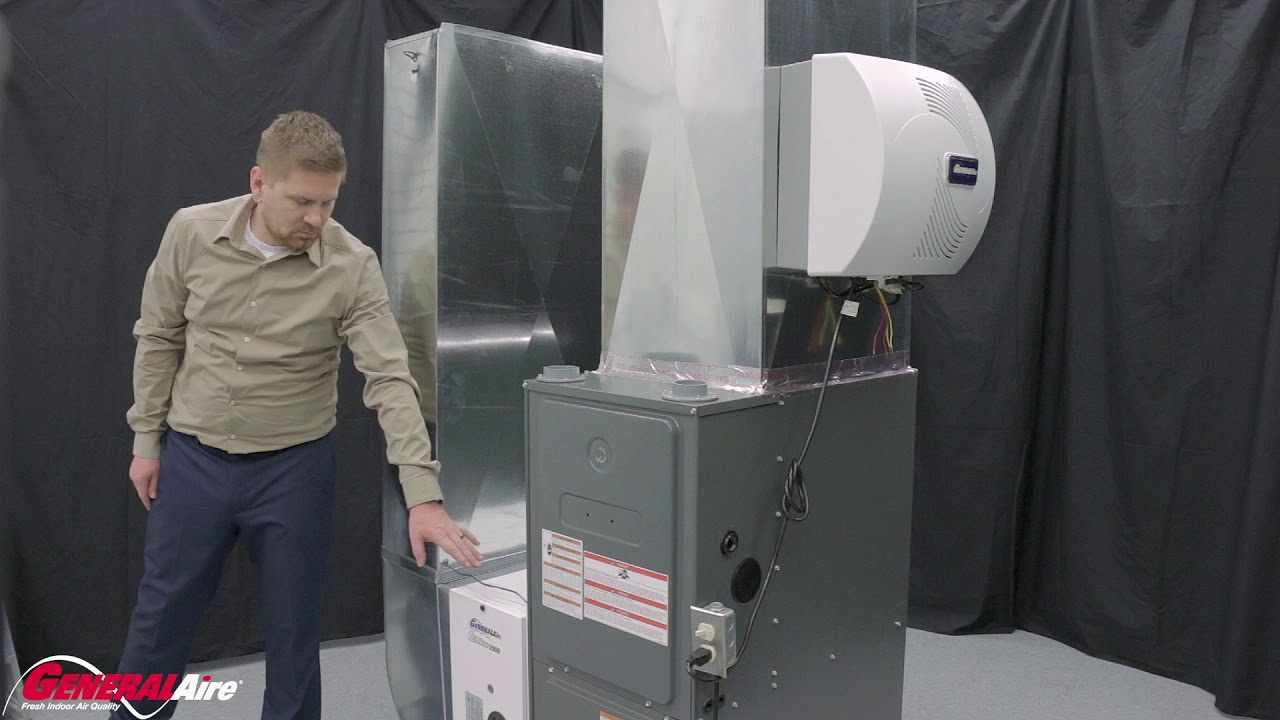 installing a generalaire� elite 1000 humidifier - video library - general  filters, inc