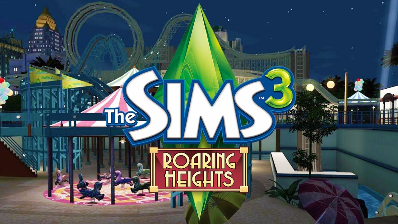 NEW Sims 3 World: Roaring Heights (Roller Coasters ...