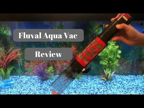 Fluval Aqua Vac Review And Demo