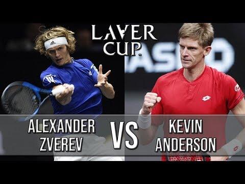 Alexander Zverev Vs Kevin Anderson - Laver Cup 2018 (Highlights HD)