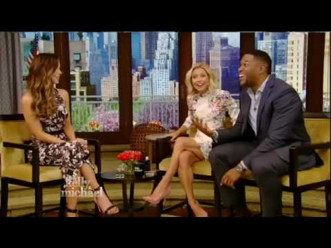 Kate Beckinsale interview Live! With Kelly and Michael 5/12/16