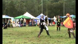 Lochac Crown R2 -  Count Sir Berenger of Nancy vs William Castille