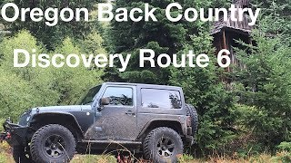 Oregon Back Country Discovery Route 6 Jeep Trip