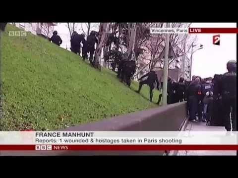 [HD] French police surrender to hill