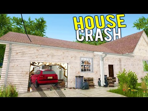 CAN WE FLIP A HOUSE THAT HAD A CAR CRASH INTO IT? - House Flipper Beta Gameplay