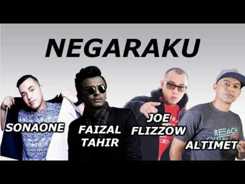 Negaraku - (Lyric Video) Feat. Joe Flizzow, Altimet, SonaOne & Faizal Tahir