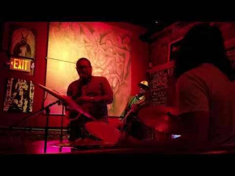 John Maurice Restrepo playing with some cool pedals @the Velvet Lounge Long Island