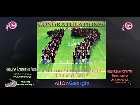 Chattooga High School 2017 Commencement Ceremony