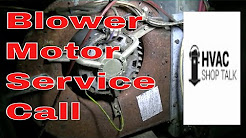 HVAC Service Call | Troubleshooting a Blower Motor