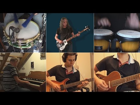 Santana: Samba Pa Ti - cover by an international collaboration