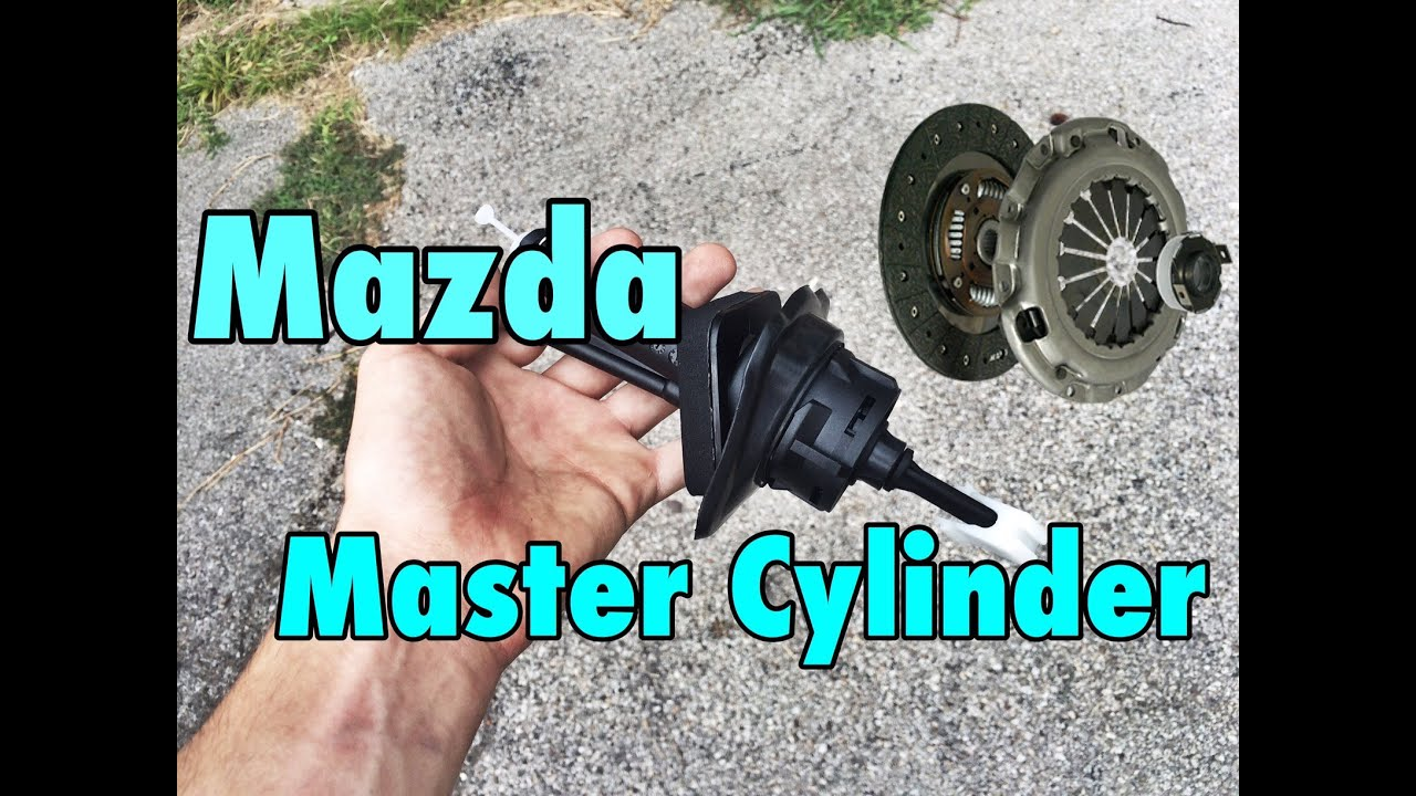 Mazda Clutch Master Cylinder Replacement Youtube 1991 Rx7 Engine Diagram