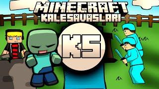 Minecraft: NDNG Kale Savaşları - Zombi Kalesi  w/Ghostgamer,Baturay