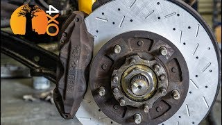 BRAKES & ELECTRICS. NEW LIFE for a 20-Yr OLD LAND CRUISER part-9