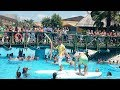Pegasos World Hotel, Lunch Game by the Pool, Surfboard Fight, Lot of Fun, Side, Manavgat, Turkey