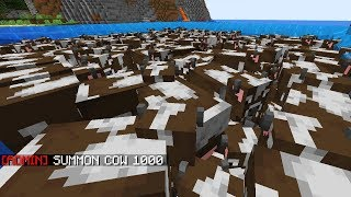 I Broke The Server With Cows