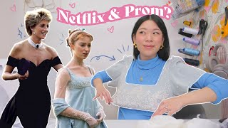 I tried making prom dresses, Netflix edition | WITHWENDY
