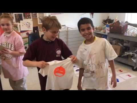Screen Printing   (Lower School Art)