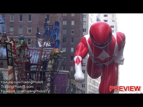 Exclusive Full Event, Macy's Thanksgiving Day Parade 2015, Video