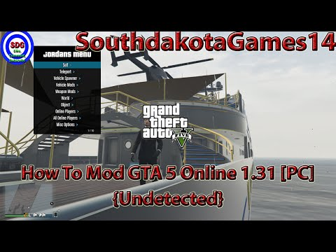 How To Mod GTA 5 Online 1.31 [PC] {Undetected}