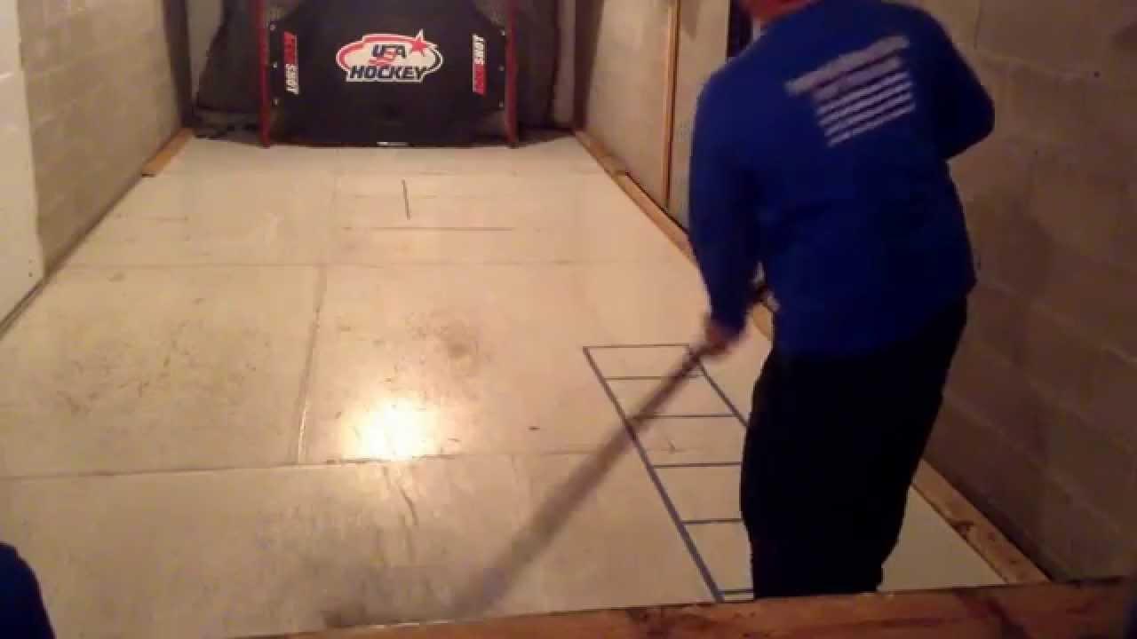 Hockey Dry Land Training Basement Youtube