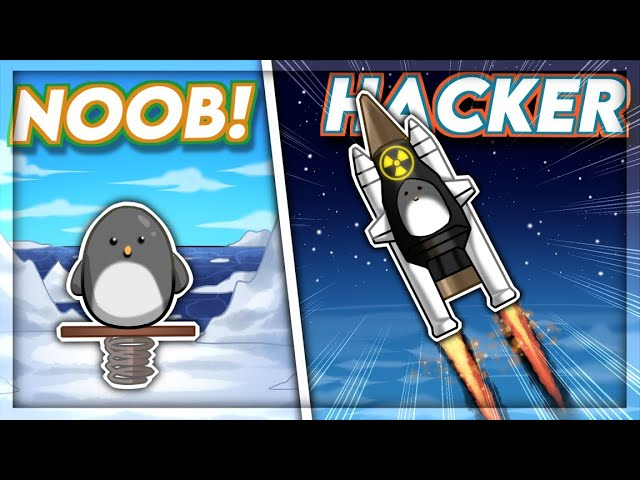 I UPGRADED A Penguin With NUCLEAR TECHNOLOGY in Learn To Fly 3