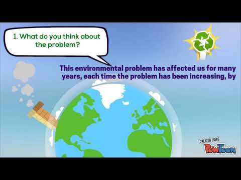 Activity 3 Evidence: Environmental issues