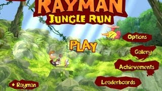 Rayman Jungle Run iPhone, iPod Touch, and iPad HD Gameplay