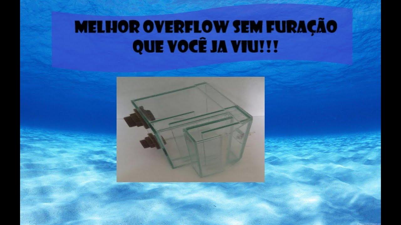 O melhor overflow sem furação que você já viu!!!