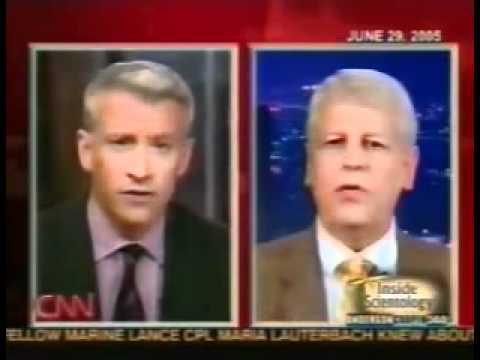 Anderson Cooper interviews Scientology CCHR's Bruce Wiseman