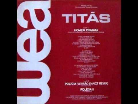 "Titãs - ""Polícia versão dance remix 1986"
