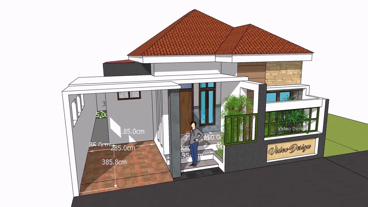 Home Idea Design 9 X 12 M 3 Kamar Tidur